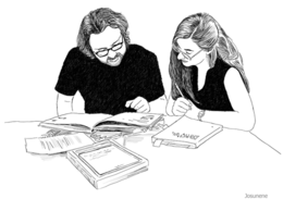 Ilustración de Josunene a partir de una imagen de Rafa Rodrigo