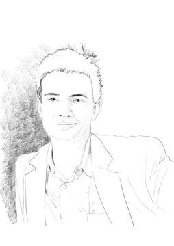 Pablo Helguera. Dibujo: Josunene